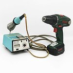 Bosch Drill and Soldering Iron