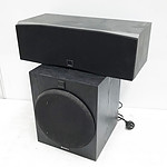 Sony Sub woofer and Dali Center Speaker