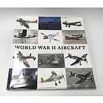 Large 'World War II Aircraft' Book with Dust Cover by Taj Books International LLP
