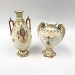 Pair of Stoke-On-Trent Vases Made in England