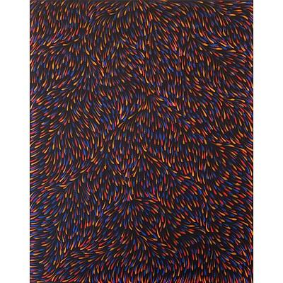 Gloria Tamerre Petyarre (c.1938-) Bush Medicine Leaves 2016, Acrylic on Canvas