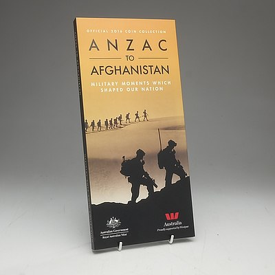ANZAC to Afghanistan Official Coin Collection