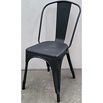 Metal Cafe Chairs - Lot of Four