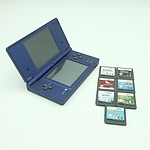 Nintendo DS with Seven Games