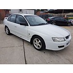 10/2005 Holden Commodore Executive VZ 4d Sedan White 3.6L