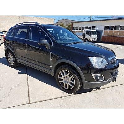 3/2013 Holden Captiva 5 (4x4) CG MY12 4d Wagon Black 2.2L