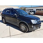 3/2013 Holden Captiva 5 (4x4) CG MY12 4d Wagon Black 2.2L