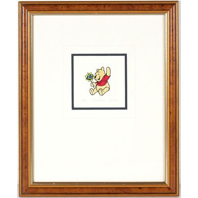 Sowa & Reiser Co Disney Winnie the Pooh Edition 388/500 Print