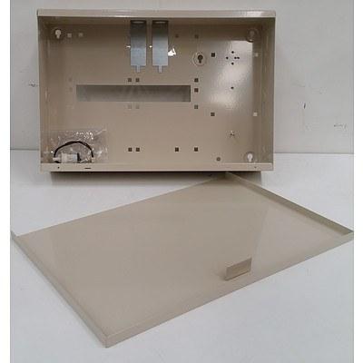 Alarm Control Box Enclosures  - Lot of Four - New
