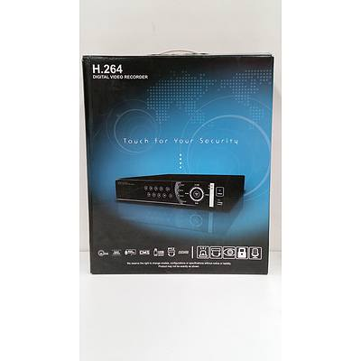 High Technology H.264 Four Channel Digital Video Recorder- New