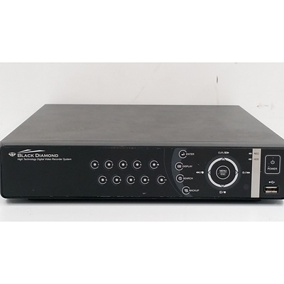 Black Diamond PDR-XM3008+ Video Recorder- Brand New