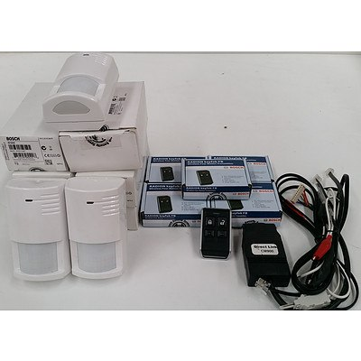Bosch Alarm System Components - Lot of 16 - New