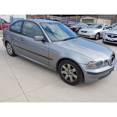 2/2004 BMW 318ti E46 3d Hatchback Grey 2.0L