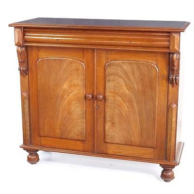 Late 19th Century Australian Cedar Chiffonier or Bookcase Base