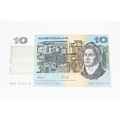 1991 Australian Ten Dollar Banknote - Uncirculated