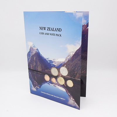 New Zealand Coin and Note Set