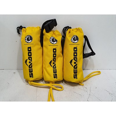 Sea-Doo Throw Line Bag *Brand New* Lot of 3 RRP $170+