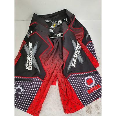 Sea-Doo XTeam Boardshorts *Brand New* RRP $180 - Lot of 2