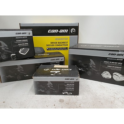 Can-Am Spyder/Roadster Chrome Kit & Accessories - *Brand New* RRP $2000+