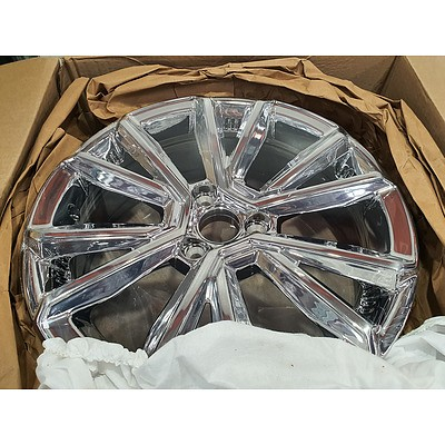 Can-Am Spyder/Roadster Chrome Front Rims - *Brand New* RRP $1100+