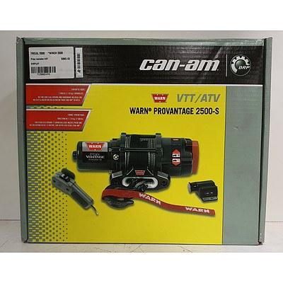 Can-Am Warn Provantage 2500-S 1100kg VTT/ATV Winch *Brand New* RRP $860