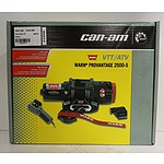 Can-Am Warn Provantage 2500-S 1100kg VTT/ATV Winch *Brand New* RRP $860