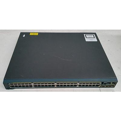 Cisco Catalyst (WS-C2960S-48LPS-L V04) 2960-S Series PoE+ 48-Port Gigabit Managed Switch
