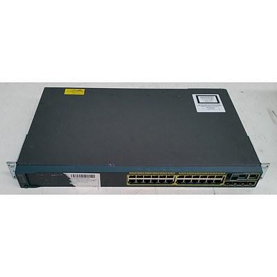 Cisco Catalyst (WS-C2960S-24TS-L V03) 2960-S Series 24-Port Gigabit Managed Switch