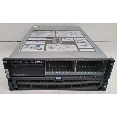 HP ProLiant DL580 G5 Dual Quad-Core Xeon CPU 2.40GHz 4 RU Server