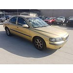 8/2001 Volvo S60 2.4T  4d Sedan Gold 2.4L