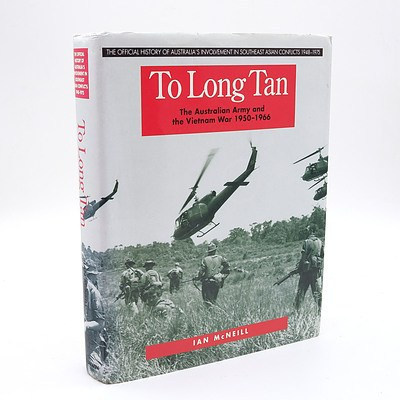 Ian McNiell, To Long Tan, Allen & Unwin Pty Ltd, St Leonards, Australia, 1993