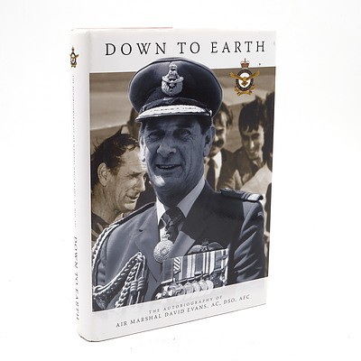 David Evans, Down to Earth, Air Power Development Centre, Canberra, Australia, 2011 with Signed Letter from the Author