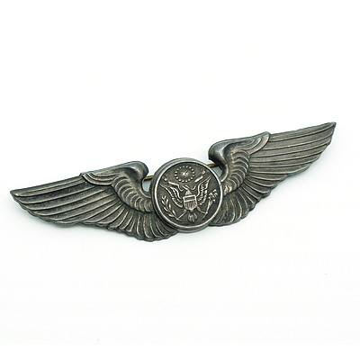 Sterling Silver Angus & Coote American Enlisted Aircrew Badge