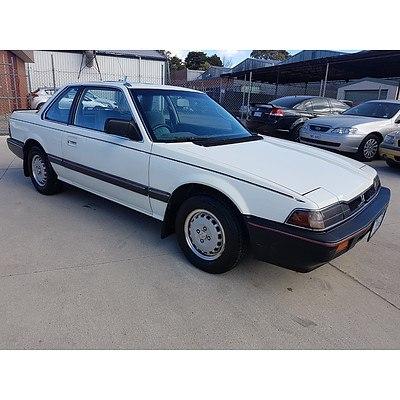 1/1984 Honda Prelude   2d Coupe White 1.8L