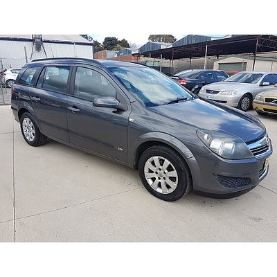 6/2009 Holden Astra CD AH MY09 4d Wagon Grey 1.8L