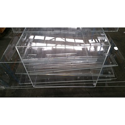 Selection of Acrylic Commercial Displays