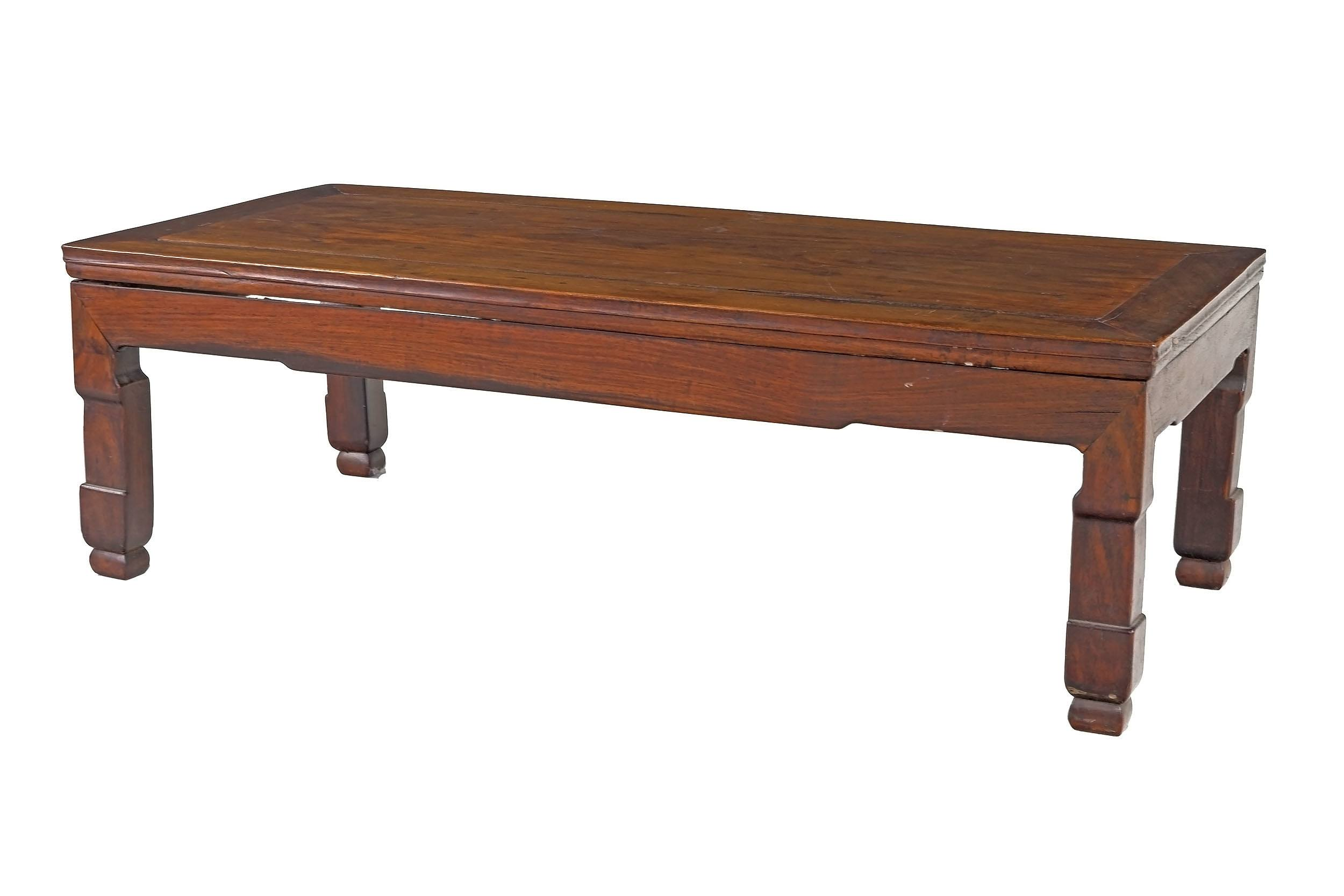 'Chinese Hongmu Rosewood Kang Table, 19th or Early 20th Century'