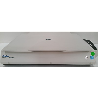 Avision FB6280E Flatbed Bookedge Scanner