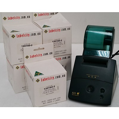 Seiko 220 Smart Label Printer and Video Spine Label Stickers