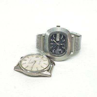 Two Gents Seiko Watches, Including Seiko Sportsman and Lord Matic