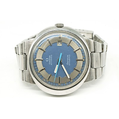 Omega Dynamic Stainless Steel Watch, Circa 1970s