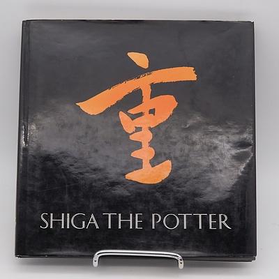 Shiego Shiga Studio Pottery Book, 'Shiga The Potter' Published By John Ferguson Pty Ltd