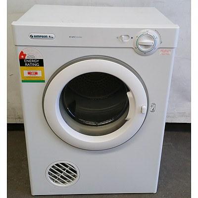Simpson 4kg Clothes Dryer