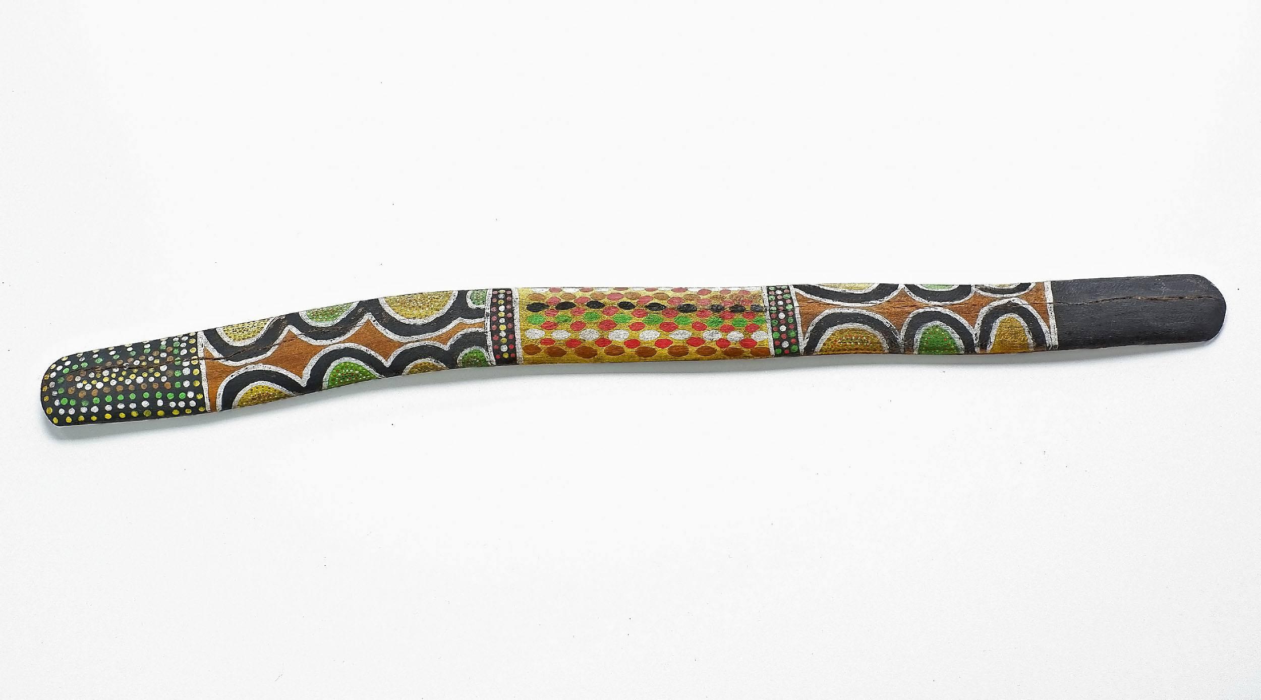 'Aboriginal Artist Unknown, Ceremonial Message Stick, Late 20th Century'