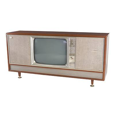 Kriesler Retro Sideboard with Turntable, TV & Control Panel