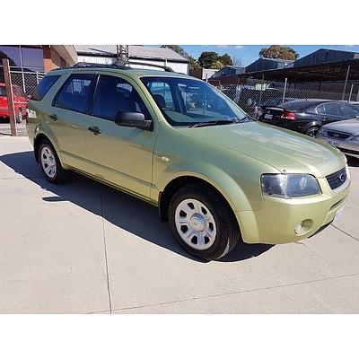 5/2004 Ford Territory TX (4x4) SX 4d Wagon Green 4.0L