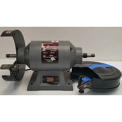 Abbot and Ashby 200mm Electric Bench Grinder