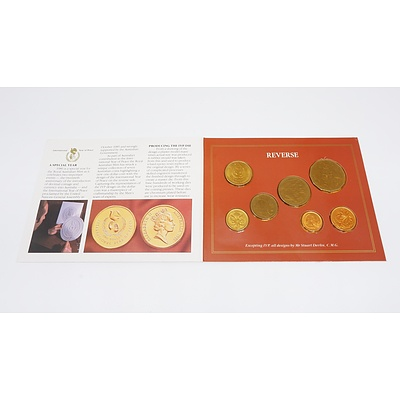 1986 International Year of Peace Coin Collection - Uncirculated