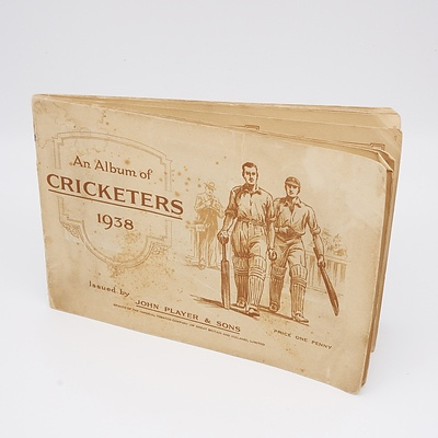 1938 An Album of Cricketers - Complete Set