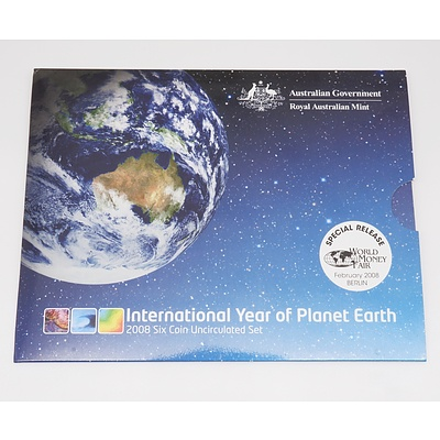 2008 International Year of Planet Earth Six Coin Uncirculated Set